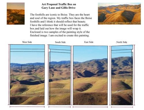 Art proposal Boise Idaho